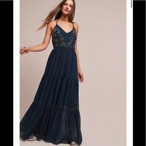 Dresses & Skirts - Anthropologie Ranna Gill Lucinda Maxi Dress SZ 12